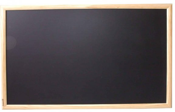Blackboard wood frame